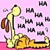 pinkfairy727: Garfield - Garfield & Odie Laughing