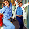 happy scrubs