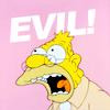 "simpsons grandpa ""evil!"""