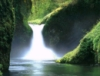 gentle waterfall