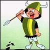 angry, angry Elmer Fudd