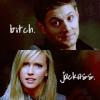 Ruby/Dean-bitch/jackass
