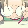 Sarah the crab: anime   lucky star; Hiyori