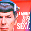 Fletcher: Spock Sexy