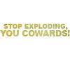 tv // futurama // stop exploding