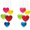 redblack32: colored hearts by wolfens