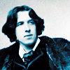 Well, I mean to say, what?: Oscar Wilde Blue