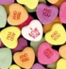 poly heart candy