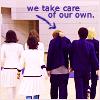 月子: take care of our own