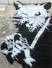rat, photo, banksy
