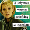 Katrina L. Halliwell: chocolate satisfying
