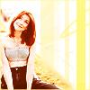 Willow Rosenberg: Glancing up w/smile