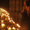 candles left side