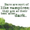 Bars Like Vampires - Anita Blake