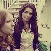 Cindy/Lindset (staring)
