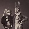 Заяц и еж (Я и Илья =)