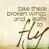 Kathy: broken wings