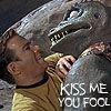 kirk kiss