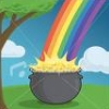 pot o' gold (rainbow)