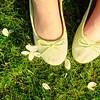 туфли + зелень