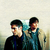 Donna: sam and dean looking away