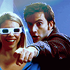 Dr. Who Rose in Glasses