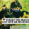 Prince's horse