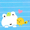 san-x | kerori & tochuu: ♥