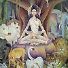Meditating Parvati