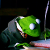 Ash: Kermit writing