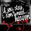 don't need heaven