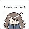star54kar: Hermione- Books are Love