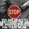 (SPN) inappropriate for your mom
