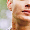 (SPN) Dean jaw and neck