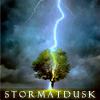 stormatdusk: blue and gold