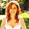 Pam Beesley {The Office}: Photoshoot; White Dress; Glow