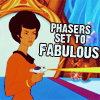A Splash of Sass: Phasers Set to Fabulous