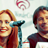anna_sg1: Gillian & David at WonderCon
