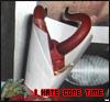 I hate cone time, izzy_stradlin