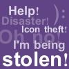 Icon theft