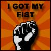Tiffany: nin i got my fist