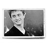 Black/white photo smile