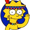 Лизочка Симпсон хороооошая :)