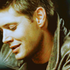 [spn] dean - sheepish at the bar.