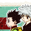 So, do you want to change the world or what?: Killua/Gon [HxH]