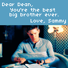 sam's note to dean