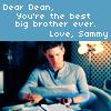 sam's note to dean