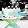 cakes and pastries || blue tint cake