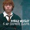 [Ron] favourite flavor