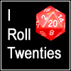 Twenties, d20, 20s, RP, Eye-Roll